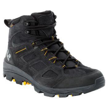 Jack Wolfskin VOJO 3 TEXAPORE MID M, moški pohodni čevlji, črna