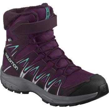 Salomon XA PRO 3D WINTER TS CSWP J, otroški čevlji, vijolična