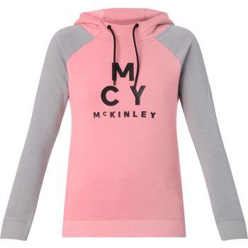 McKinley GOLDIE WMS, pulover ž.snb, roza