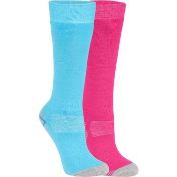 McKinley ROB JRS 2-PACK MCK, otroške smučarske nogavice, roza
