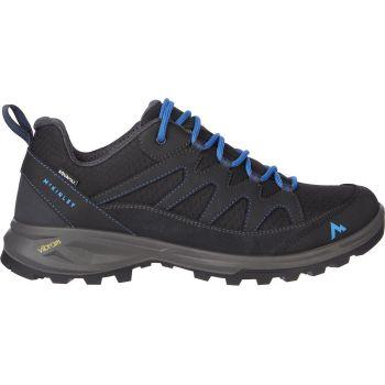McKinley VULCANUS AQX M, pohodni čevlji, črna
