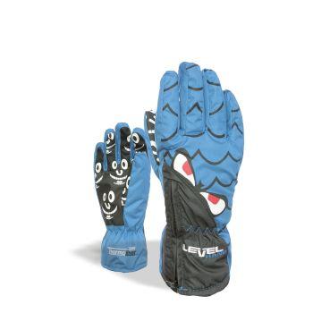 Level LUCKY, otroške smučarske rokavice, modra