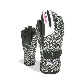Level JUNIOR, otroške smučarske rokavice, črna