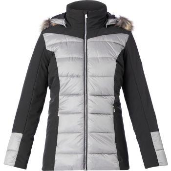 McKinley GIZZA JKT WMS, ženska pohodna jakna, črna