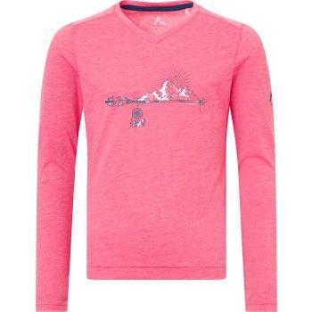 McKinley BELLUN GLS, otroška pohodna majica, roza