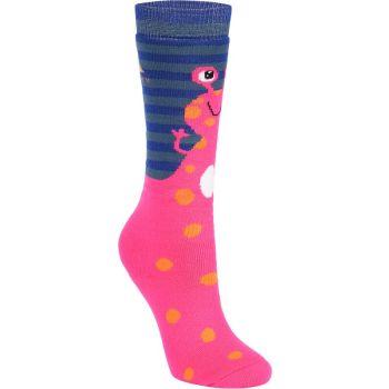 McKinley BENNIE JRS, otroške smučarske nogavice, roza