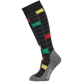 Barts GRID, otroške smučarske nogavice, črna