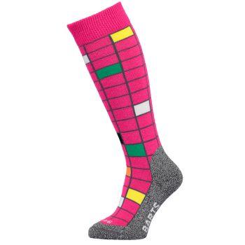 Barts GRID, otroške smučarske nogavice, roza