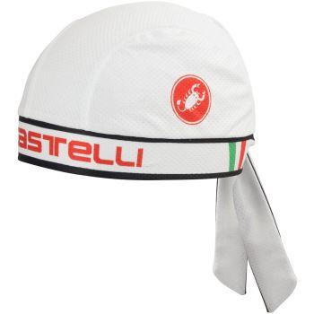 Castelli BANDANA, kolesarski dodatki, bela