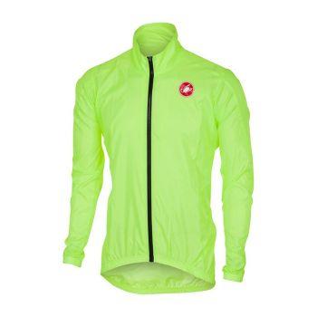 Castelli SQUADRA, moška kolesarska jakna, rumena