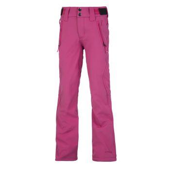 Protest LOLE JR SOFTSHELL SNOWPANTS, otroške smučarske hlače, roza