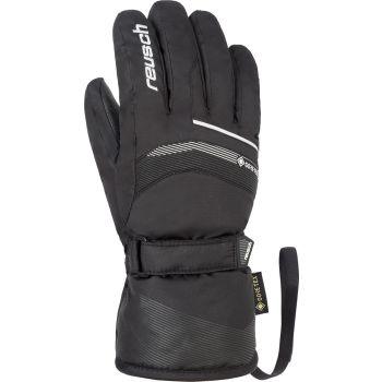Reusch BOLT GTX JR, otroške smučarske rokavice, črna