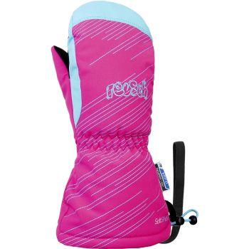 Reusch MAXI R-TEX XT MITTEN, otroške smučarske rokavice, roza