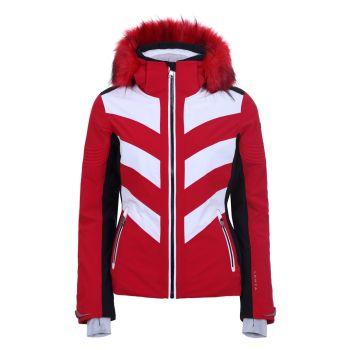 Luhta JALONOJA L7, ženska smučarska jakna, rdeča