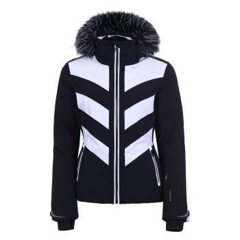 Luhta JALONOJA L7, ženska smučarska jakna, črna