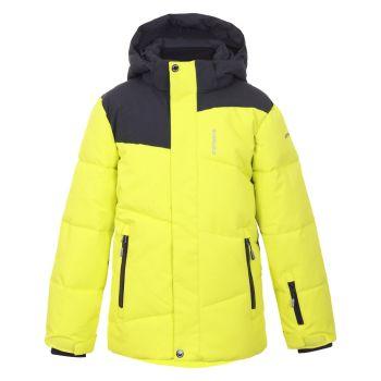 Icepeak LINTON JR, otroška smučarska jakna, rumena