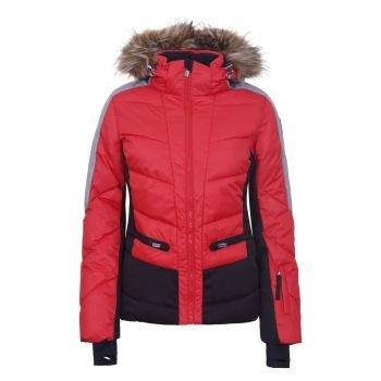 Icepeak ELECTRA I7, ženska smučarska jakna, rdeča