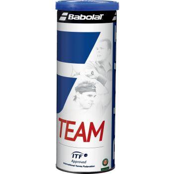 Babolat TEAM X3, žoga za tenis, rumena