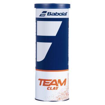 Babolat TEAM CLAY X3, žoga za tenis, rumena