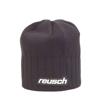Reusch CERKNO, moška smučarska kapa, črna