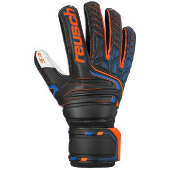 Reusch ATTRAKT SG FINGER SUPPORT, moške nogometne rokavice, črna