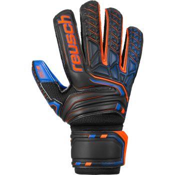 Reusch ATTRAKT SG EXTRA, moške nogometne rokavice, črna