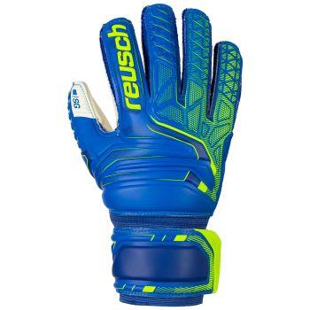 Reusch ATTRAKT SG FINGER SUPPORT JR, otroške nogometne rokavice, modra