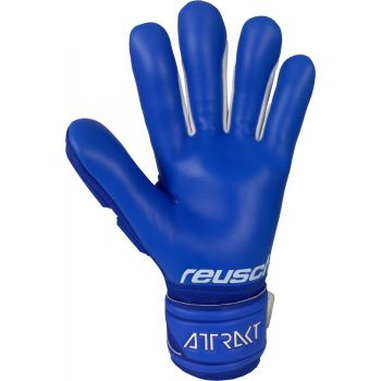 Reusch ATTRAKT FREE SILVER, moške nogometne rokavice, modra