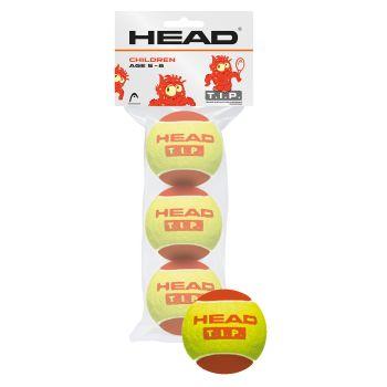 Head 3B HEAD TIP, žoga za tenis, rdeča