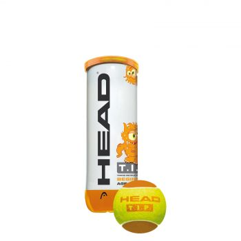 Head 3B HEAD TIP, žoga za tenis, oranžna