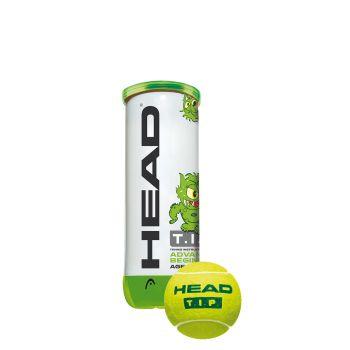 Head 3B HEAD TIP, žoga za tenis, zelena