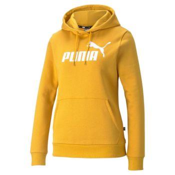 Puma ESS LOGO HOODIE TR (S), pulover ž., rumena