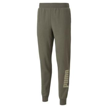 Puma POWER LOGO SWEAT PANTS TR CL, moške hlače, zelena