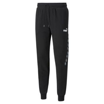 Puma POWER TAPE SWEAT PANTS TR CL, moške hlače, črna