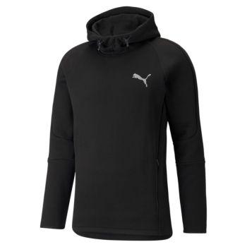 Puma EVOSTRIPE HOODIE, moški pulover, črna