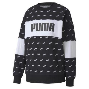 Puma AOP CREW, pulover m., črna