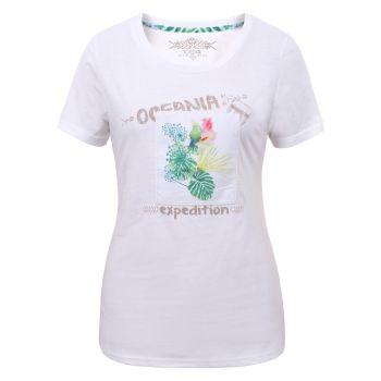 Torstai KIRINDA, ženska majica, bela