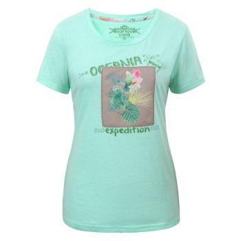 Torstai KIRINDA, ženska majica, zelena
