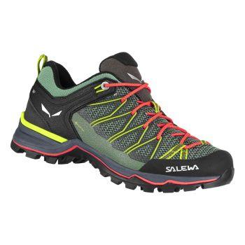 Salewa MTN TRAINER LITE GTX W, pohodni čevlji, zelena