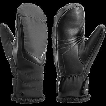 Leki STELLA S LADY MITT, ženske smučarske rokavice, črna