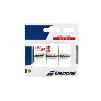 Babolat VS ORGINAL X3, tenis grip, bela