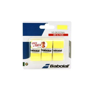 Babolat VS ORGINAL X3, tenis grip, rumena