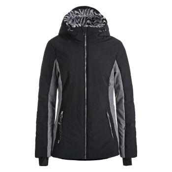 Luhta ELOSAARI L6, ženska smučarska jakna, črna