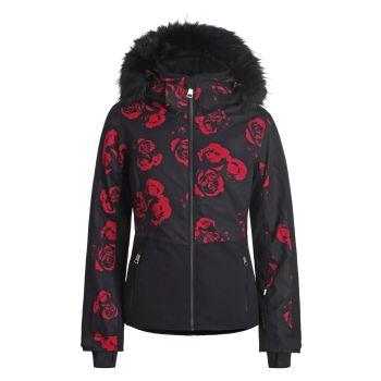 Luhta ENKKUA L7, ženska smučarska jakna, črna