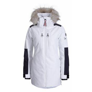 Luhta EVIENNE L7, ženska jakna, bela