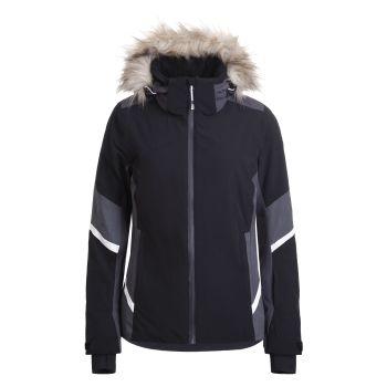 Icepeak FLOWOOD, ženska smučarska jakna, črna