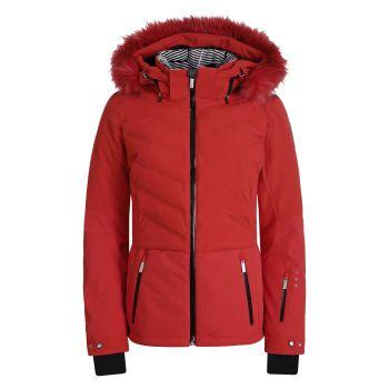 Icepeak EDINA I, ženska smučarska jakna, rdeča
