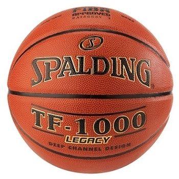 Spalding TF 1000 LEGACY, košarkarska žoga, oranžna
