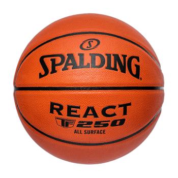 Spalding TF-250 REACT, košarkarska žoga, oranžna
