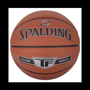 Spalding TF SILVER, košarkarska žoga, oranžna